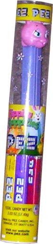 PEZ Dispenser Pink Bunny with Extra PEZ