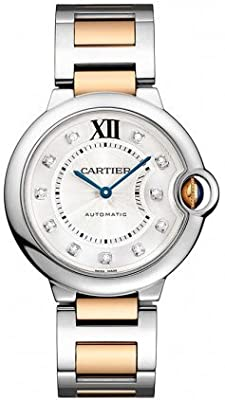 Cartier Women's WE902031 Ballon Bleu Analog Display Automatic Self Wind Two Tone Watch