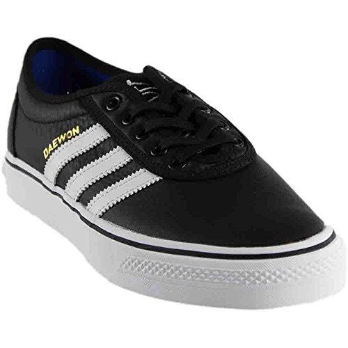 55506dca203 Galleon - Adidas Adi-Ease Black White   Gold Skate Shoes-Men 12.0 ...
