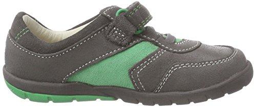 Clarks Softly Lee Fst - zapatillas de running de cuero Bebé-Niñas Gris (Grey Combi)