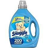 Snuggle Liquid Fabric Softener, 2X Concentrated, Blue Sparkle, 200 Loads, 80 Fluid Ounce