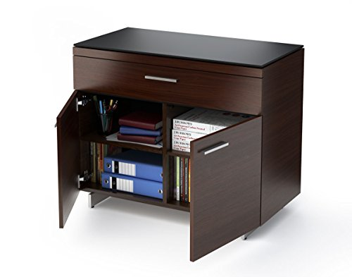BDI Sequel Storage Cabinet 6015 (Chocolate Stained Walnut) by BDI Distributors Inc.
