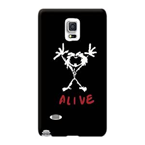 Samsung Galaxy Note 4 ZpC15895SGpf Unique Design Trendy Pearl Jam Pictures Shock-Absorbing Hard Phone Cases -AshtonWells
