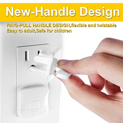 41dk7NUtZaL 38 Pack Baby proofing Outlet Plugs, PRObebi No Easy to Remove by Children Keep Prevent Baby from Accidental Shock Hazard    Product Description