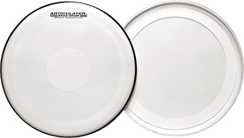 Bearing Play End (Aquarian Articulator Bass Drum Heads White 28 Inch)