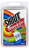 Shout Stain Remover Wipes, Travel Size - 4 ct