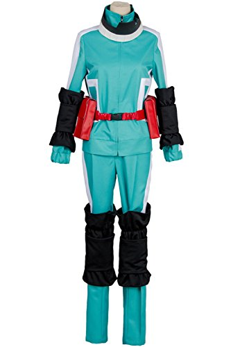 Midoriya Costume - Cosplay Boku no Hero Academia My Hero Academia Izuku Midoriya Battle Suit Costume Uniform Blue