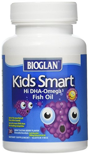 Bioglan Kid's Smart Omega 3 Fish Oil