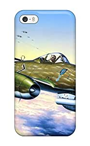Durable Defender Case For Iphone 6 4.7 Tpu Cover(aircraft)