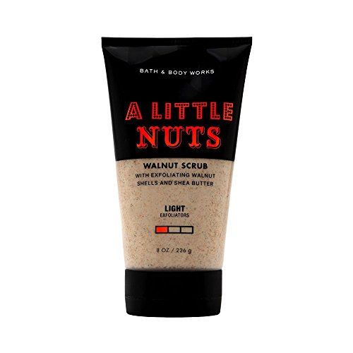 (Bath and Body Works A Little Nuts Walnut Scrub 8 ounces)