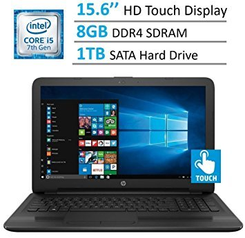 HP 15.6'' HD Touchscreen TruBrite Display Laptop PC, Intel Dual Core image