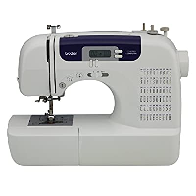 Brother cs6000i 60-Stitch Computerized Sewing Machine with Wide Table from Brother