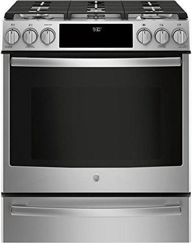 GE PGS930SELSS Slide-in Gas Range Cooktop