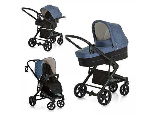 Hauck Atlantic Plus Trio Set, From Birth to 22Kg Travel System including...
