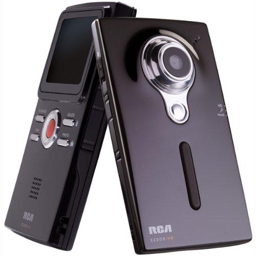 Amazon.com : RCA EZ209HD Small Wonder HD Camcorder (Black ...
