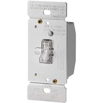 leviton 6693 3 way illuminated toggle dimmer 600 watt 120v