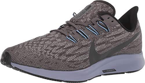 Nike Air Zoom Pegasus 36 Men's Running Shoe Thunder Grey/Black-Pumice-Stellar Indigo Size 10.5 (Nike Air Zoom Pegasus 33 Mens Black)