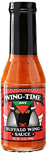 Wing Time Hot Sauce, 13 oz ()