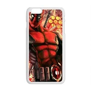 Valiant Warrior Deadpool Cell Phone Case for Iphone 6 Plus
