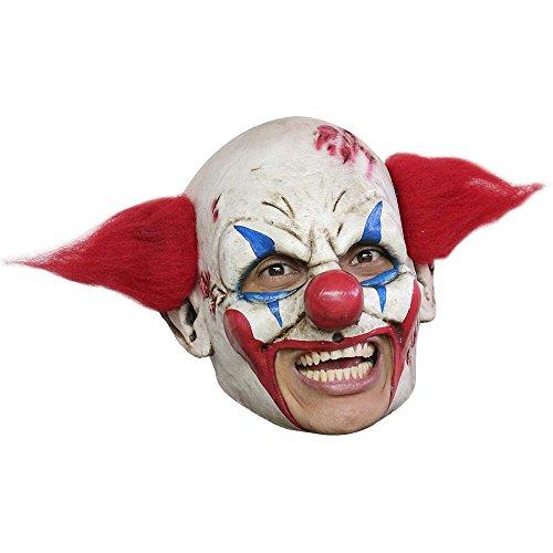 [Evil Clown Deluxe Chinless Mask] (Deluxe Evil Clown Mask)