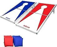 GoSports CornHole PRO Regulation Size Bean Bag Toss Game Set