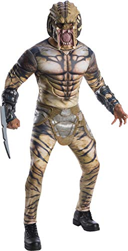 Rubie's Costume Co Men's Deluxe Predator Adult Costume, As Shown, -
