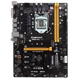 Biostar Motherboard TB250-BTC Core i7/i5/i3 LGA1151 Intel B250 DDR4 SATA PCI Express USB ATX Retail ()