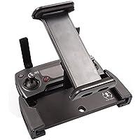 Eleshroom DJI Mavic Pro Tablet SmartPhone Holder, Foldable 4-12 Inch Phone Bracket Mount / 360° Rotatable Tablet iPad Holder for Dji Mavic Pro Spark Remote Controller, Black