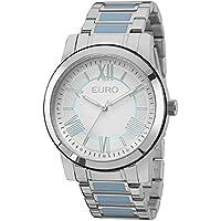 Relógio Feminino Euro Analógico Eu2035Yeh/5K Prata