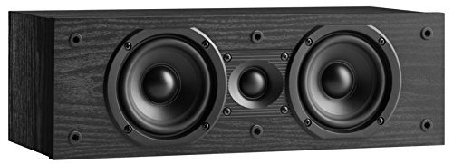 JBL Loft 20 Two-Way Dual 4 Center Channel Loudspeaker - Each (Black) by JBL