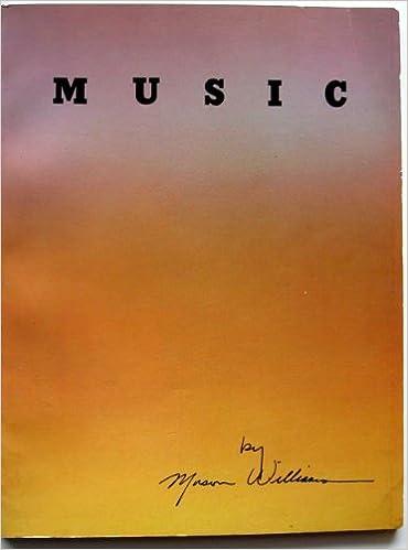 Music by Mason Williams matching music book