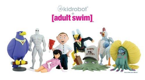 Kidrobot Adult Swim Mini Figures Blind Box (1 -