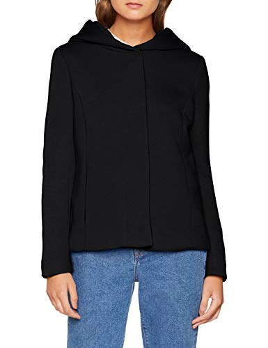 Onlsedona Black Chaqueta Otw Only Mujer Solid Jacket Negro Detail gFqROUW7O