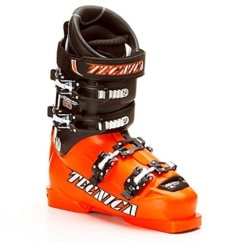 Tecnica Inferno 90 Jr. Race Ski Boots Orange