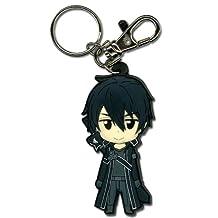 Sword Art Online Kirito Pvc Keychain