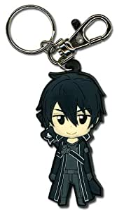 Amazon.com: Sword Art Online Kirito Pvc Llavero: Toys & Games