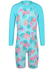 TFJH Girls Onepiece Swimsuit 4-5 Years UPF 50+ UV Pink