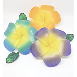 Classic Home Spa Plumeria Flowers Floating Candles Wedding Home Pool Decor souvenir Classic Nature Style Thai Traditional