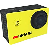 Braun Paxiyoung Action Camera Yellow [158070]