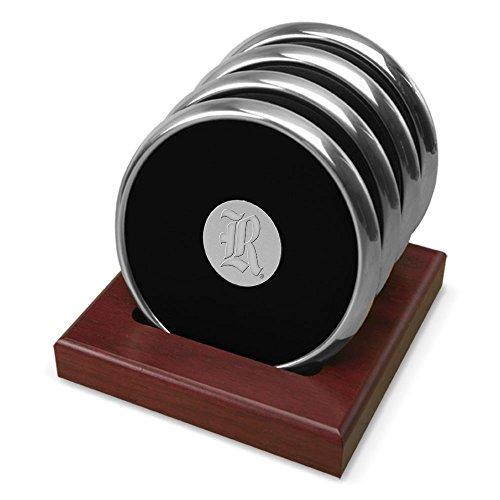 - CSI Cannon Sports Rice University Silver Tone Coaster Set of 4