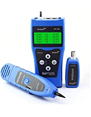 Seesii Network Cable Tester LCD NF-308 Wire Fault Locator LAN Network Coacial BNC USB