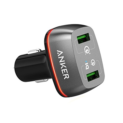 Anker Quick Charge 3.0 42W Dual USB Car Charger, PowerDrive+ 2 for...