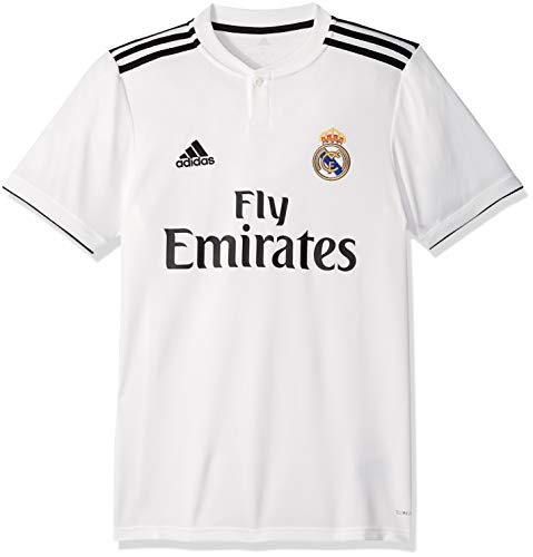 adidas World Cup Soccer Real Madrid Soccer Real Madrid Home Jersey, Small, Core White (Mens Real Madrid Soccer Jersey)