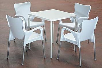M&M Conjunto Compuesto por una 1 Mesa y 4 sillones. Mesa y ...