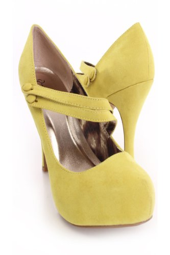 cdfc4ec4a550 60%OFF Qupid Double Mary Jane Straps High Heels Stiletto Pump Shoes Qutrench -26