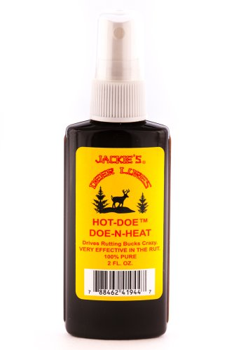 Jackies Deer Lures Hot Doe Sprayer, 2-Ounce