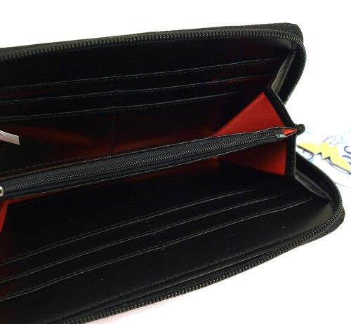 Retro Wonder Patent Woman Purse Zipper Large q4854