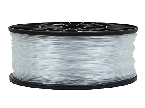 Monoprice ABS 3D Printer Filament - Crystal Clear - 1kg Spool, 1.75mm Thick   For All ABS Compatible Printers