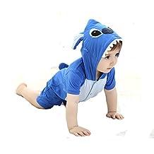 Tonwhar Unisex Baby Summer Short Sleeve Rompers Onesie Costume