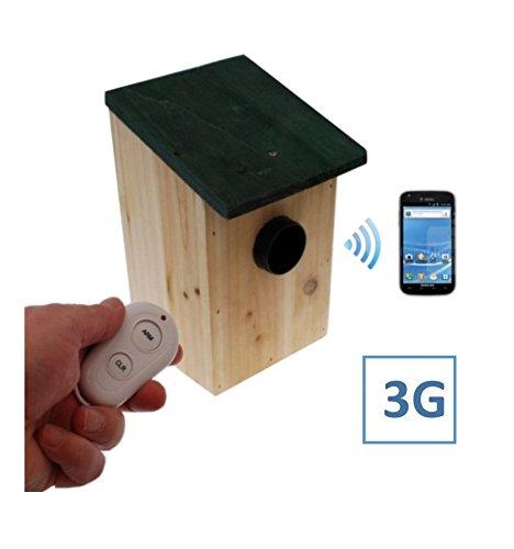 UltraPIR & Bird-box (Battery Powered 3G UltraPIR Bird-box GSM Alarm). (£12 Roaming SIM Please)